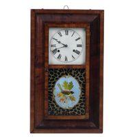 Relógio Parede Inglês Mogno
