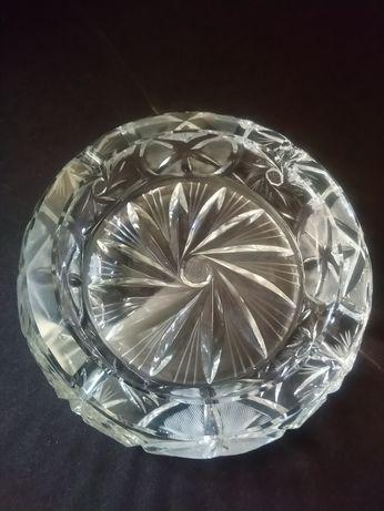 Duża kryształowa misa Nowa średnica 21 cm