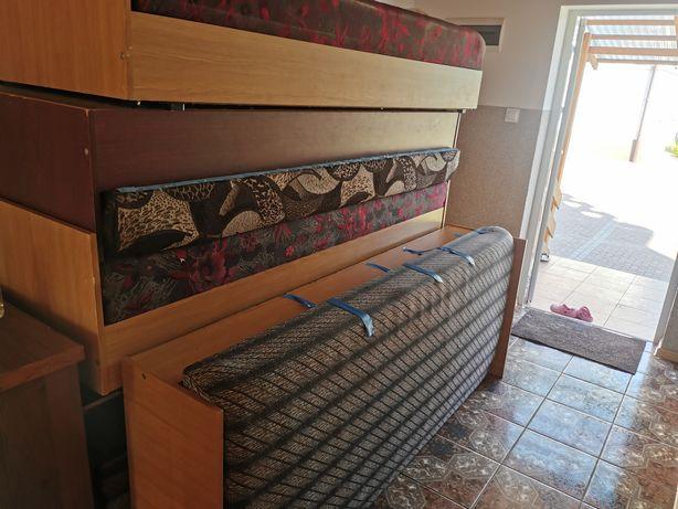 Łóżko 80x190 tapczan na kemping lub działkę