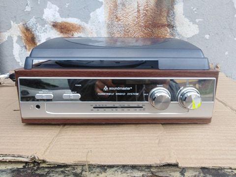 Gramofon w stylu Retro FM PL186 Soundmaster