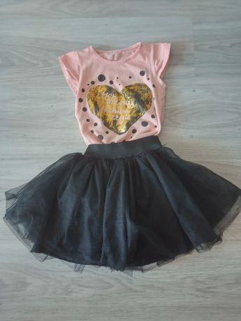 zestaw koszulka+sukienka