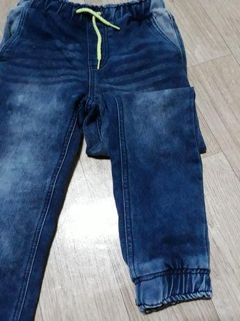 Jeansowe Joggerry NOWE chłopięce 128cm