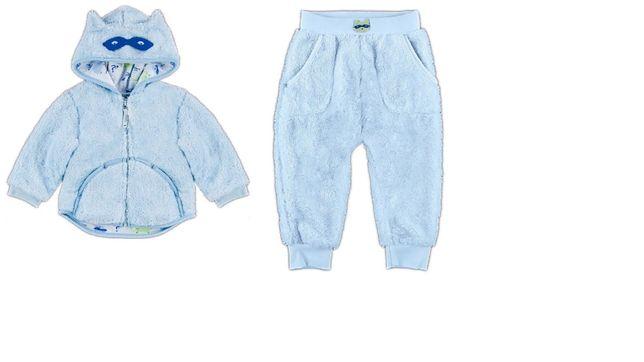 Костюм (кофта и штаны) Smil для новорожденного из микроплюши