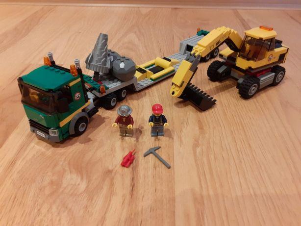 Lego City 4203 - Koparka z transporterem