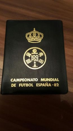 Zestaw monet mundial 82 hiszpania
