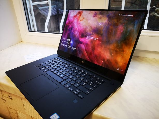 Ультрабук DELL XPS 15 9550, 500 SSD, 16 RAM, i7, 3840x2160 4K, gtx 960