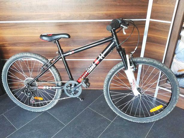 """Lombardowski. Rower Rockrider RR 5.0 Btwin 24"""" młodzieżowy"""