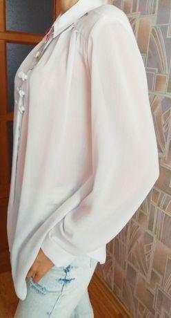 Белая женская блуза Elegant
