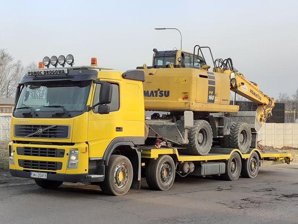 Pomoc drogowa transport koparek  maszyn do 20ton