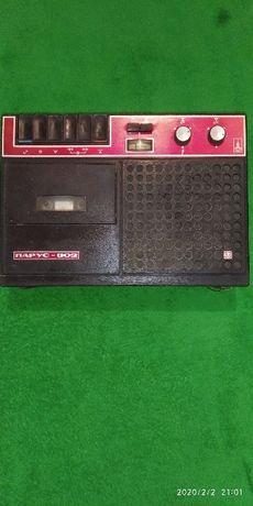 .Касетний магнітофон Парус 302, СССР
