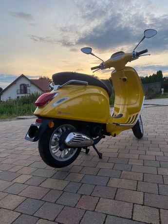Skuter Vespa  Piaggio Sprint 50cm3 Nowy przebieg 12 km Unikat Warto