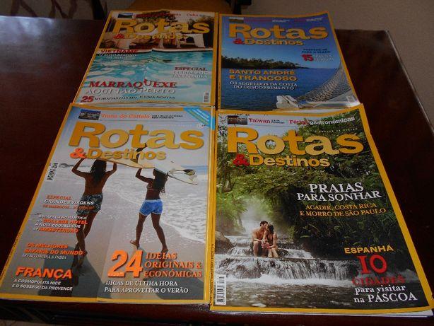 """Revistas """"Rotas & Destinos"""""""