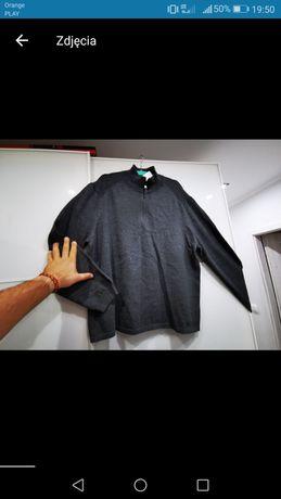 Bluza sweterek CALVIN KLEIN XXL szary