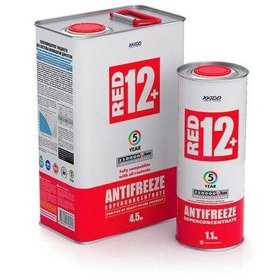 Антифриз ХАДО для двигателя. XADO Antifreeze BS, G11, G12+, G12++
