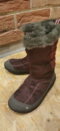 Buty dziewczęce śniegowce Quechua dl. Wkładki 19,5cm