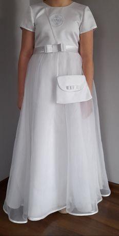 Sukienka komunijna, alba rozm. 140 - 146