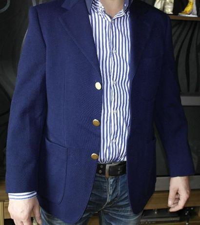 мужской reine Schurwolle шерсть трикотаж пиджак жакет школьный