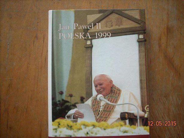 Jan Pawał II POLSKA 1999 książka