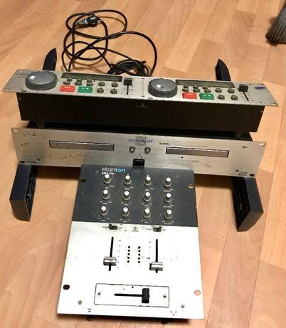 Микшерный пульт Stanton, CD-проигрыватель + DJ контроллер Stan