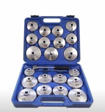 Ferramenta Kit de 23 Chaves para Filtros de Oleo de Copo [ NOVOS]