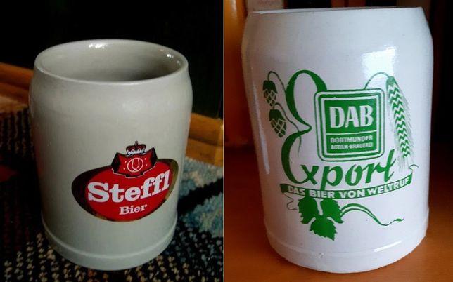 Kufel ceramiczny z Browaru Stefl+gratis kufel ceramiczny z Browaru DAB