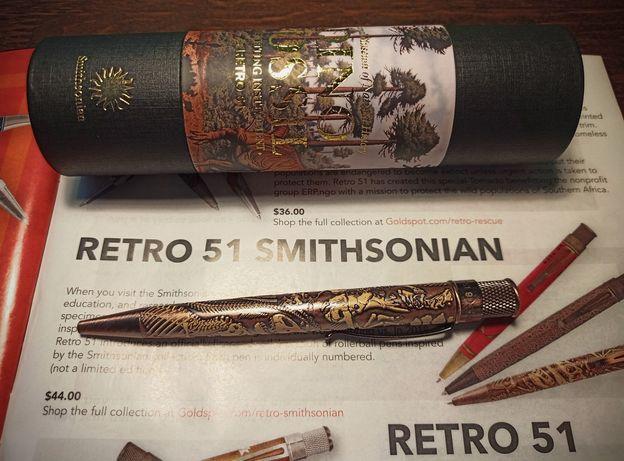 Ручка-роллер Retro 51 Tornado Smithsonian Dino Fossil