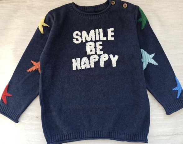 Реглан, джемпер, тёплый свитер на мальчика next 18-24 92см