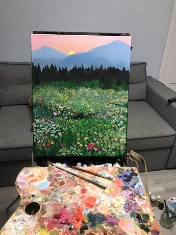 Картина ( акрил, полотно 50х40)
