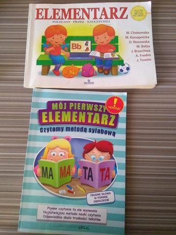 Moj pierwszy elementarz książki do czytania dla dzieci