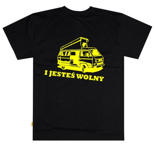 Podkoszulek kamper VW Westfalia, kemping