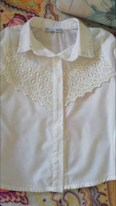 Блузка для дівчинки Михайловка-Рубежовка - изображение 1