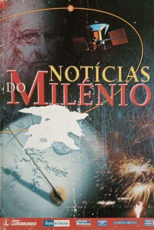 """[VINTAGE!] """"Notícias do Milénio"""" 996 páginas, 1999"""