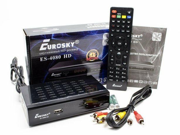 Спутниковый ресивер Eurosky ES-4080 HD