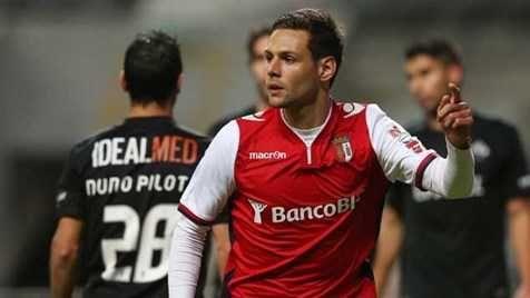 Camisola de Jogo SC Braga #2 Sasso