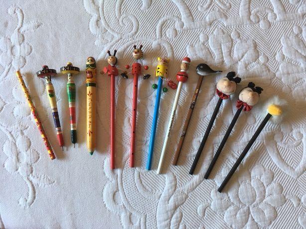 Lápis e canetas criança vários