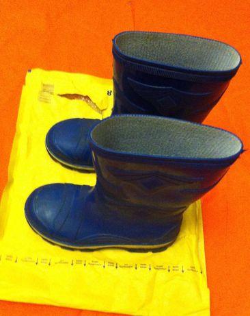 сапоги синие,резиновые размер 30- 191
