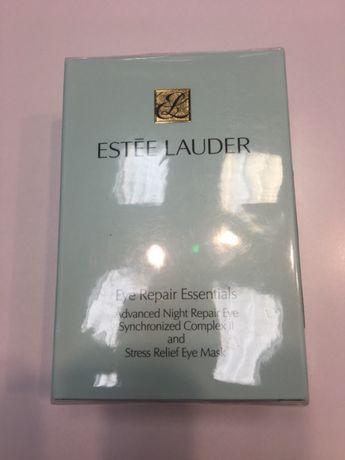 Estee Lauder zestaw serum Advanced Night Repair Eye plus płatki