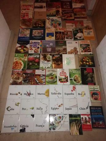 Livros de culinária muito bem estimados