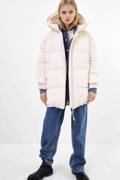 Зимняя прорезиненная куртка ZARA Софиевская Борщаговка - изображение 1