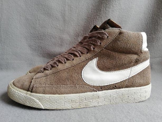Buty Nike Blazer r. 38 zamszowe za kostkę sneakersy wygodne skórzane