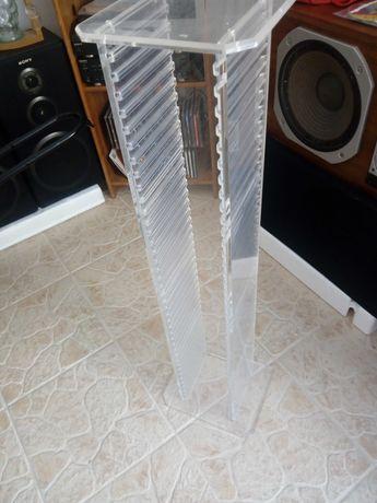 Torre cd's acrilico