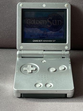 Game Boy Advance SP Prateado ( S/ Carregador )