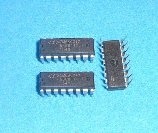 Микросхема ШИМ CM6800TX. Корпус DIP-16. Новая.