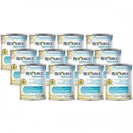 Nestle Resource Optimum спец. питание 400г (7лет+ и для взрослых)