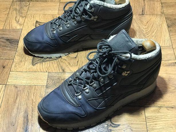 Ботинки Reebok Classic Leather Sherpa. Размер 43 (28 см)
