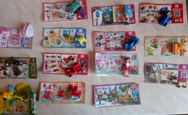 Кіндер іграшки Киндер Игрушки
