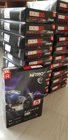AMD Sapphire 4GB RX580 NITRO+ Samsung Memory