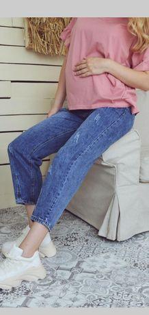 Для беременных джинсы МОМ