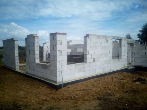 Sprzedam rozpoczętą budowę domu w Niegosławicach