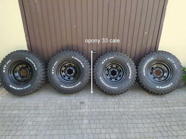 Nowe Opony+felgi16 Cooper STT Pro 285/75R16 koła,  8x16 6x139,7  ET-10